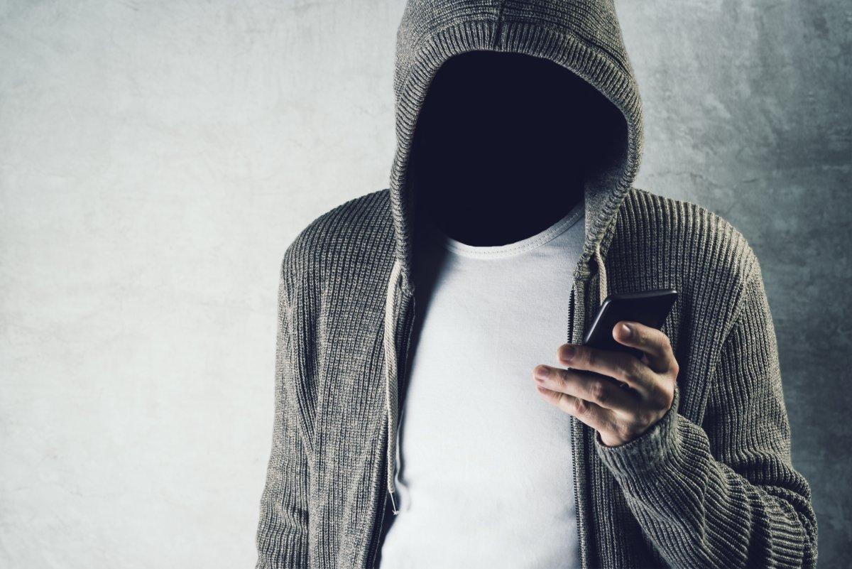 hacker breaking into a phone